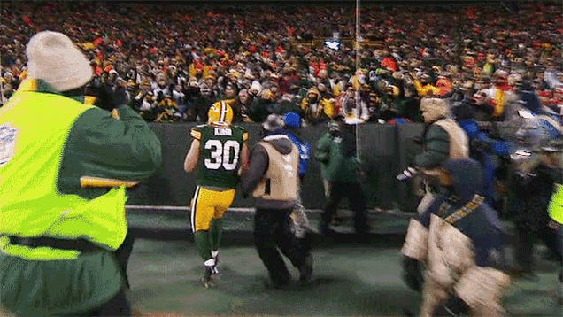 Not All Lambeau Leaps Are Equal