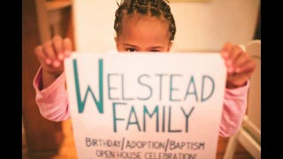 Feel-good Friday:  Interracial adoption