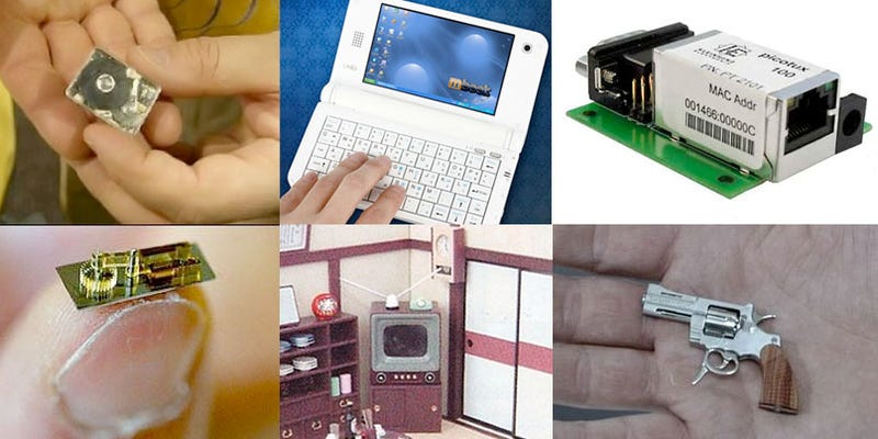 10 of the World's Smallest Gadgets