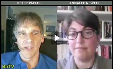 SF Author Peter Watts Talks About Hard Science Fiction, and Being Beaten By US Border Guards