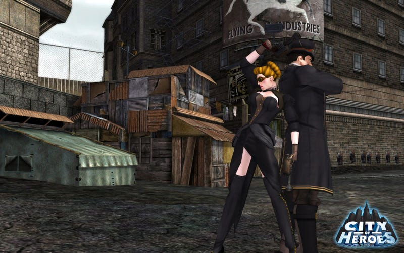 City of Heroes Dragged Kicking and Screaming Into the Steampunk Age