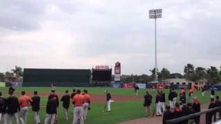 Orioles Augment Drills With Fake Crowd Noise; Neighbors Call The Cops