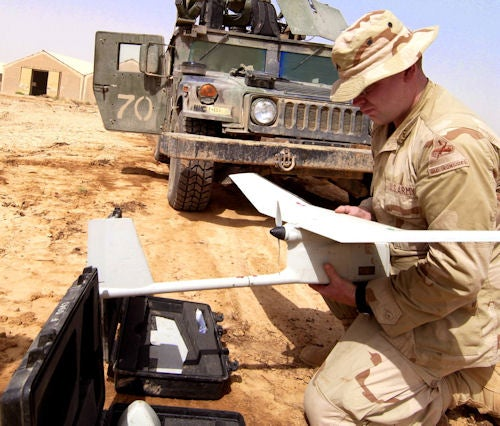 Need To Fly A Military Drone? Yep, There's An iPhone App For That