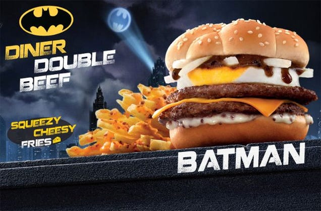 Batman is getting his own, surprisingly not-black Burger in Hong Kong
