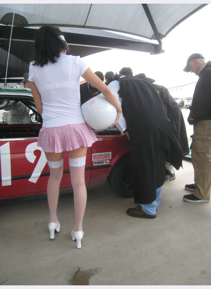 BS Inspection at the 24 Hours of LeMons Gator-O-Rama 2010