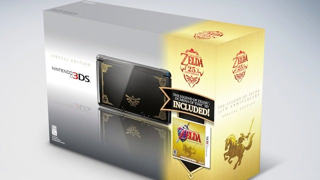 Nintendo Debuting Limited Edition Super Mario and Zelda 3DS Bundles For Thanksgiving