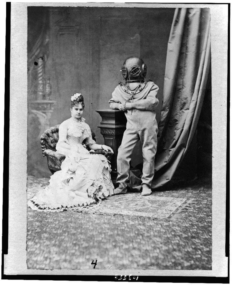 This 1880s photo is from the greatest Jules Verne-themed prom that never happened