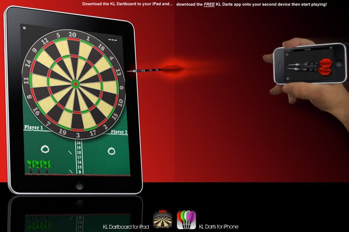 iPad/iPhone Darts Make This Whole Fanboy Lifestyle Worth It