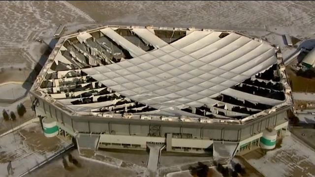 The Silverdome Has Been Abandoned To The Elements