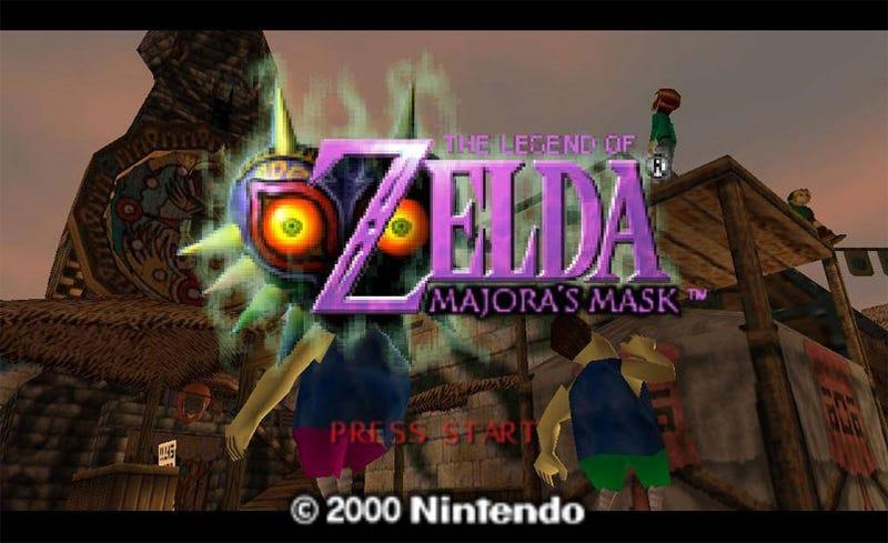 PAL Virtual Console Gets Majora's Mask