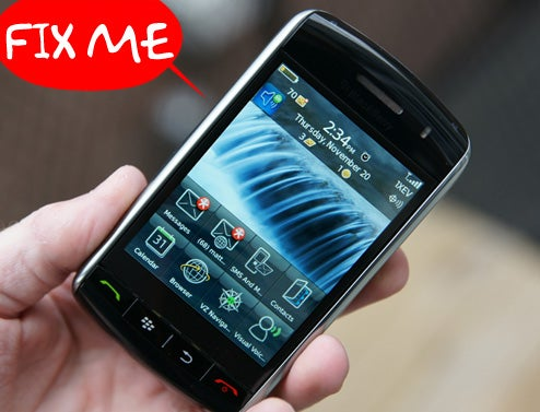 BlackBerry Storm Update 4.7.0.76 Makes (Almost) Everything Better