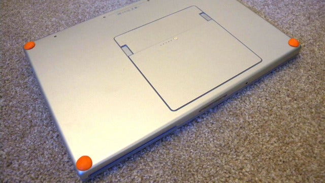 Replace Laptop Bumpers with Sugru