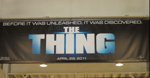 The Thing prequel: same name, new tagline