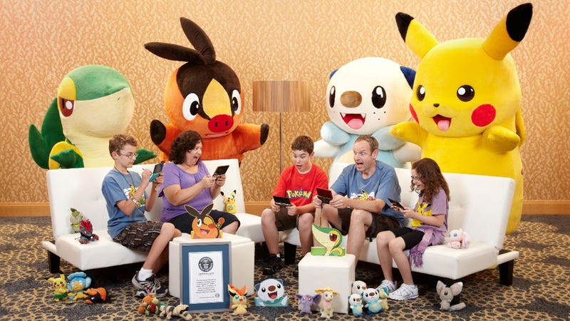 America's PremierPokémon-Playing Family Enter the Guinness Book of Arbitrary Gaming Records