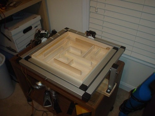 Unnecessary Upgrades: Accelerometer-Controlled Marble Maze