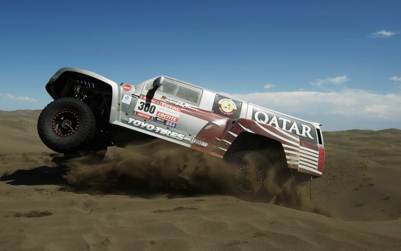 The Dakar Race Looks Pretty Much Like A Post-Apocalyptic Hellscape