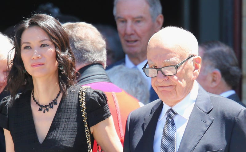 Vanity Fair: Rupert Murdoch Suffered Elder Abuse From Wendi Deng
