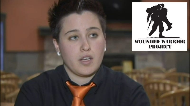 Lying Waitress Lied About Donating Funds from Supporters to Help Vets