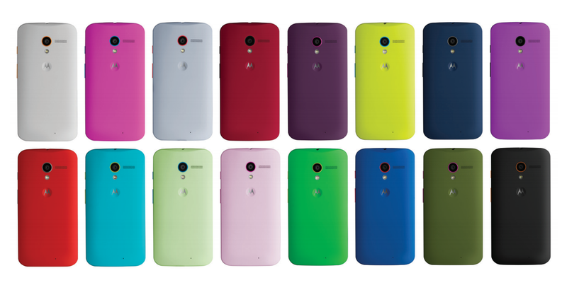 Moto Maker Hands On: Customizing a Moto X Is Pretty Easy, Very Fun