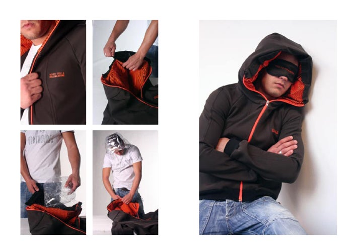 Jacket With an Inflatable Hood Is Perfect For Sleepy Travelers