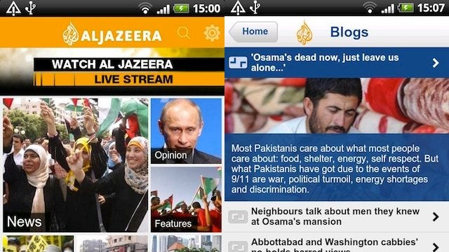 Al Jazeera English Now Available for Android
