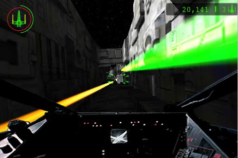 Star Wars Trench Run for the iPhone