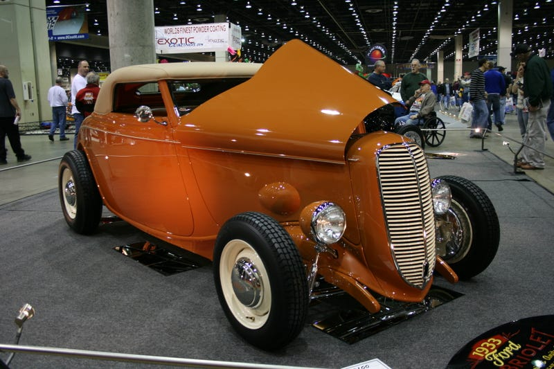 1933 Ford Cabriolet, A Noble Great Eight Contender