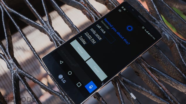 We Just Tried Cortana on Android, And You Can Too