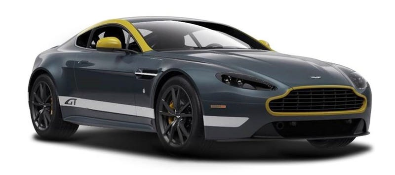 The Vantage GT is less than 100k.