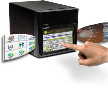Shuttle D10 Media Server With a 7-Inch Touchscreen