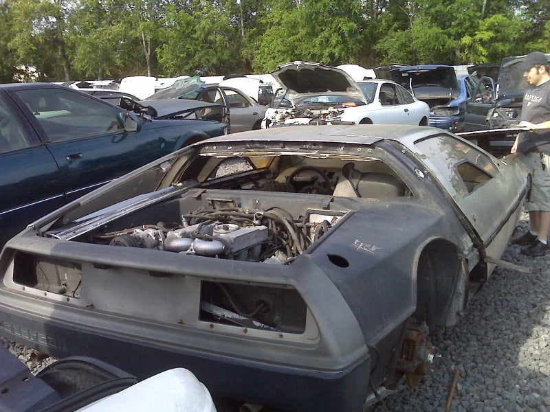 Time Machine Found In Junkyard By Hobo Seeking Great Scotch