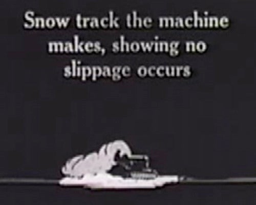 The Fordson Snow Machine: Tractors Are Good At Everything