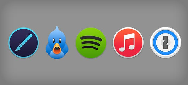 20 Beautiful Yosemite App and Icon Concept Designs