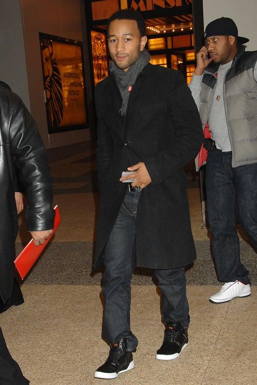 John Legend: Cashmere & Hi-Tops