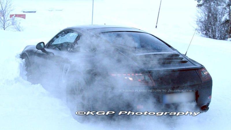 Porsche 911 Spy Shots