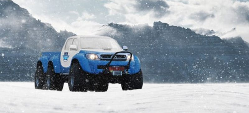 This 6x6 Hilux Is The Truck You Need To Drive To The South Pole