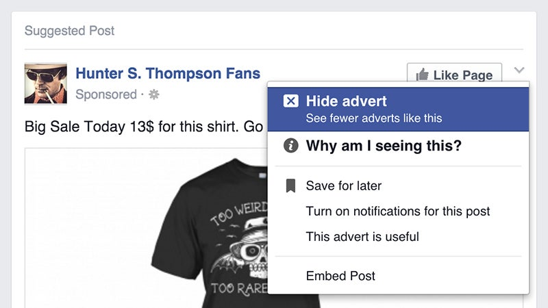 You Can Decide What Ads Facebook Shows You