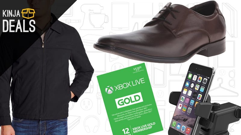 Today's Best Deals: Winter Coats, Smartphone Dash Mount, Xbox Live, and More