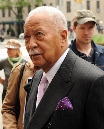 (Former) Mayor of New York Flips Off Protester