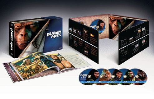 Planet of the Apes: 40-Year Evolution Blu-ray Set Comes Out Nov. 4