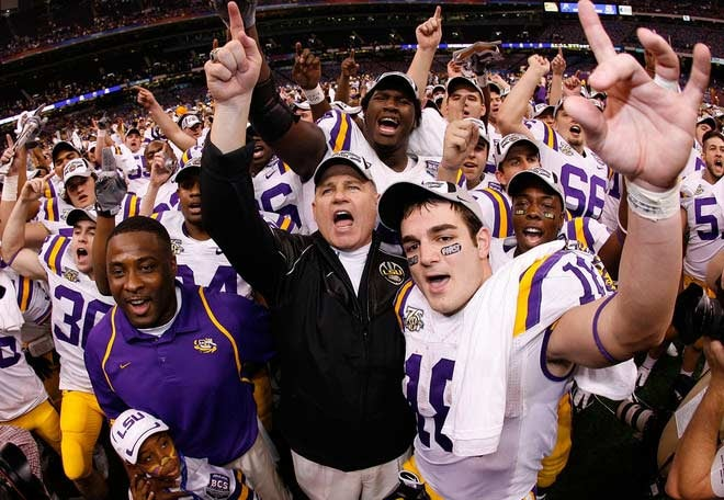 """If Someone Had To Be Called """"Champ,"""" Might As Well Be LSU"""