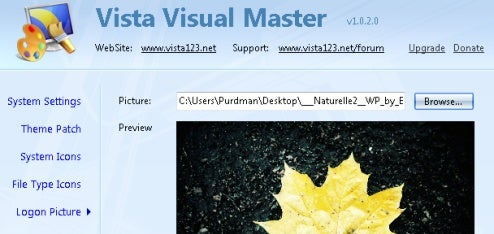 Tweak Your Windows Theme with Vista Visual Master