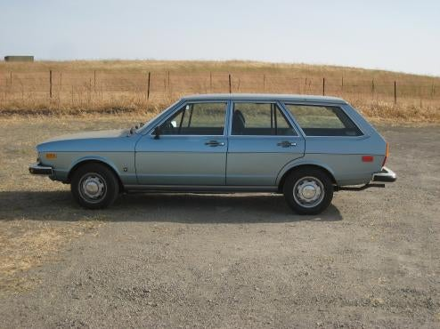 1976 Audi Fox Wagon: Choice Of Discerning Pit Crew Members!