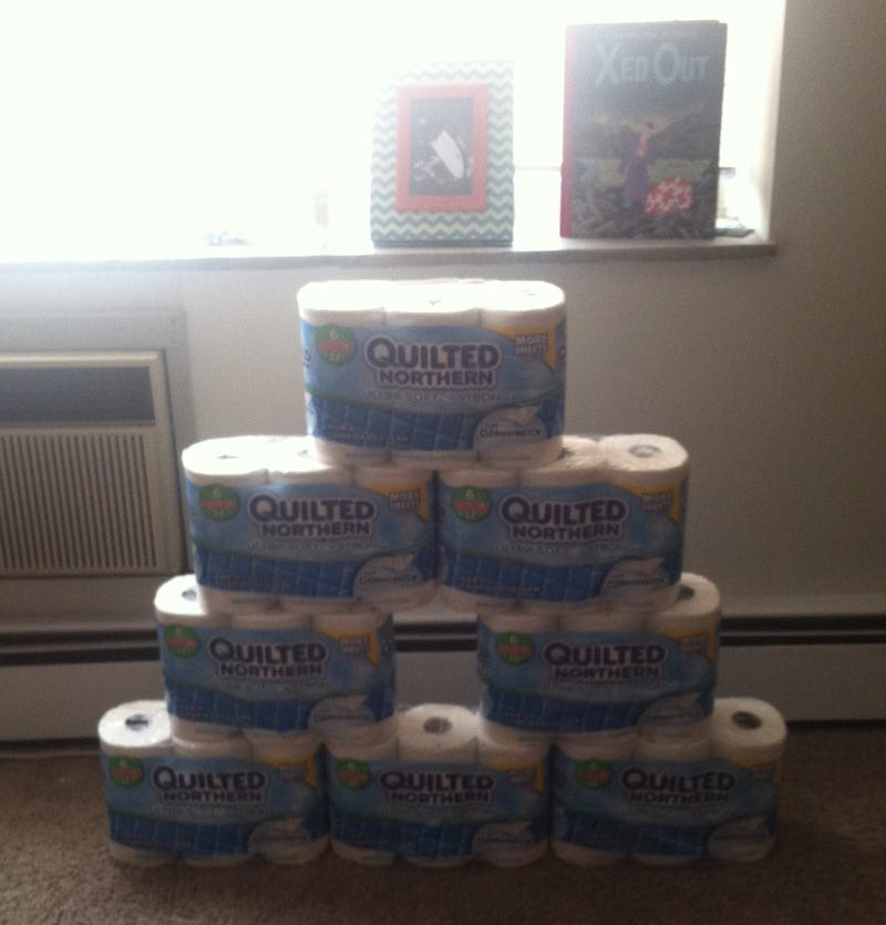 I have never been this excited about toilet paper before!!!