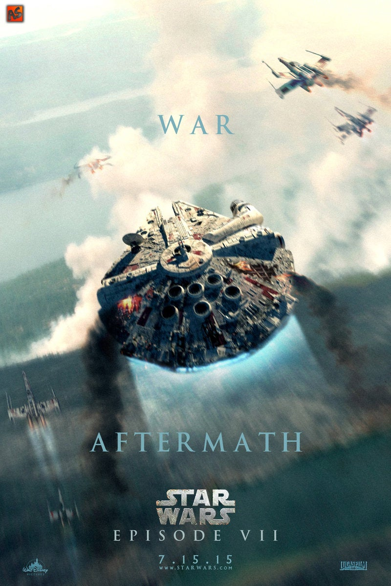 These Star Wars: Episode 7 Fan Posters Are So Good They Gave Us Chills