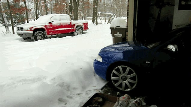 Americans Stuck In Snow Need More Power And Grip