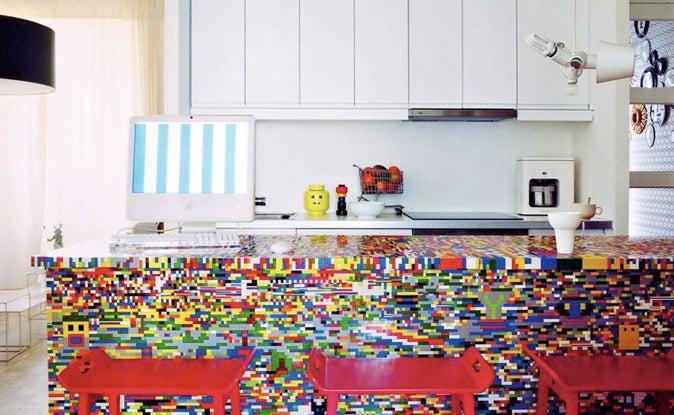 Repurpose Old Furniture With LEGOs