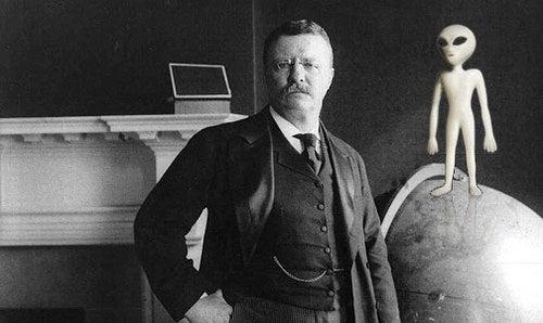 #2: Teddy Roosevelt