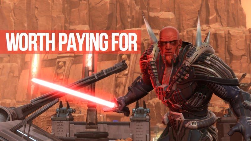 Star Wars MMO Won't Go Free-to-Play 'in the Foreseeable Future'