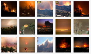 The Raging California Wildfires